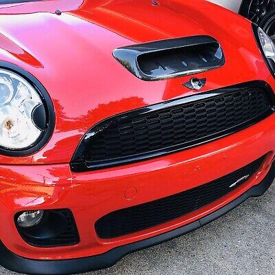 Mini Cooper S JCW R56 Carbon Fiber Hood Scoop Vent Cover NO RESERVE