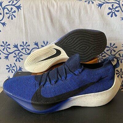 Nike Vapor Street Flyknit 'Deep Royal' Running Shoes AQ1763-400 Men's Size 10