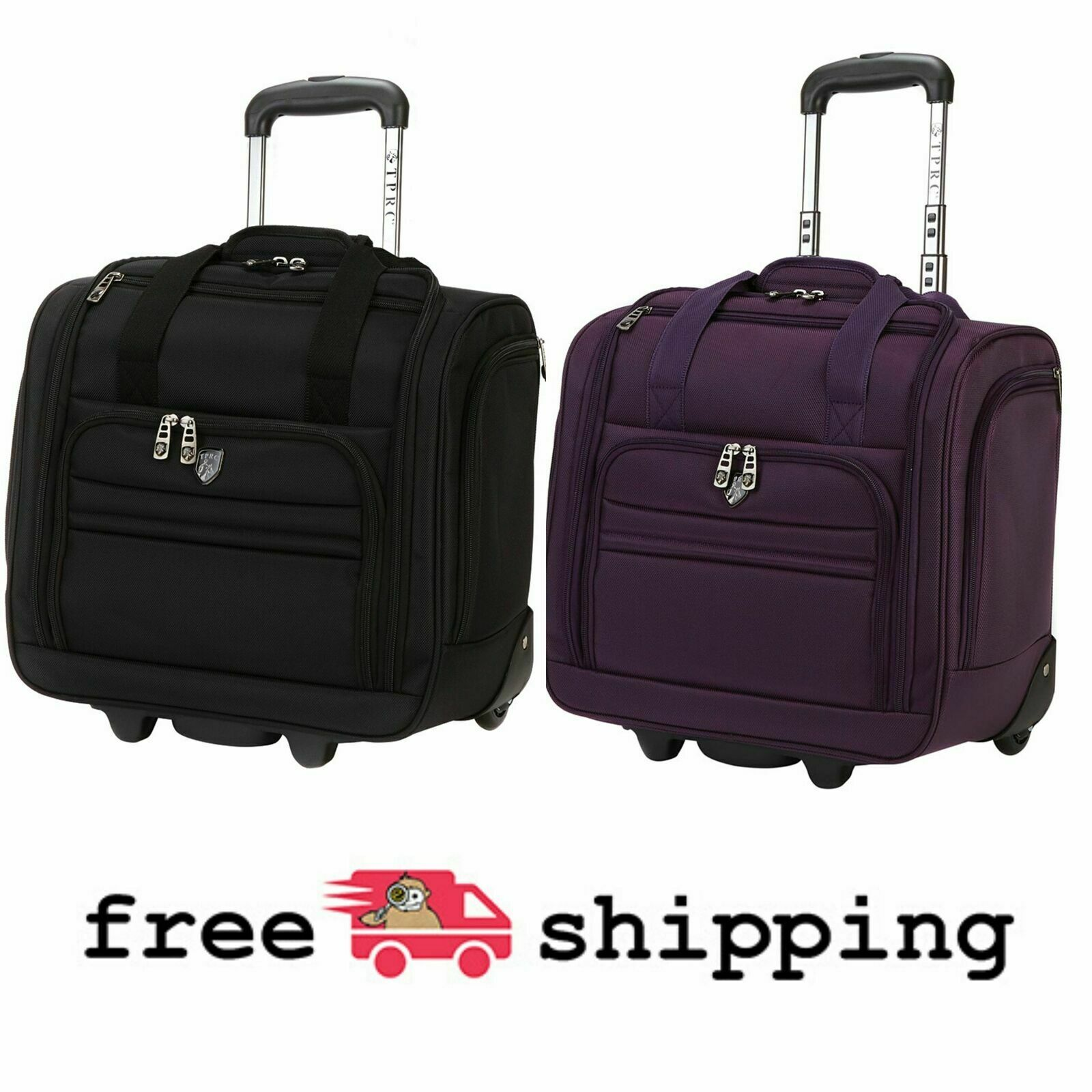 """16"""" Rolling Underseat Carry-on