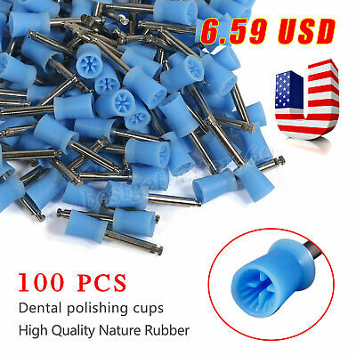 Dental Latch Prophy Polishing Cup Cups Fit Contra Angle Handpiece Marathon 3type