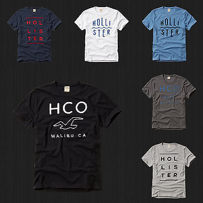 NWT HOLLISTER By Abercrombie Men So Cal GraphicT Shirt Tee All Sizes Color New