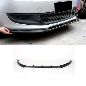 r style carbon fiber front lip spoiler aprons fit for vw. Black Bedroom Furniture Sets. Home Design Ideas