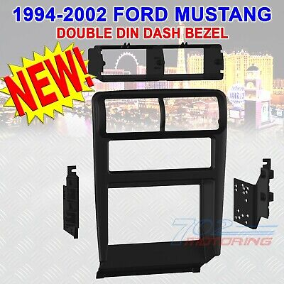 1994-2002 FORD MUSTANG CAR STEREO RADIO DOUBLE DIN INSTALLATION DASH KIT BEZEL ()