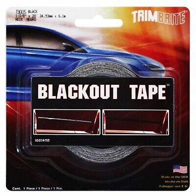 Trimbrite T9005 Black-Out Tape Car Pinstripe Accessories Parts BEST (Best New Car Accessories)