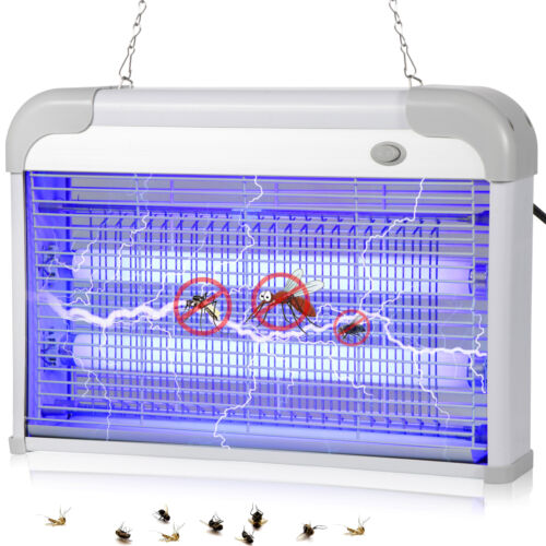 110V 20W Electronic Lamp Light Mosquito Killer For Fly Bug pest Insect Zapper Home & Garden