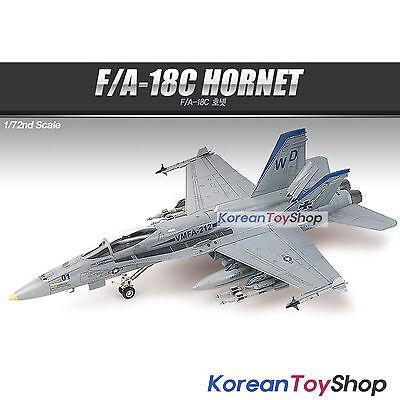 Academy 12411 1/72 Plastic Model Kit USMC F/A-18C HORNET VMFA-212 Lancers