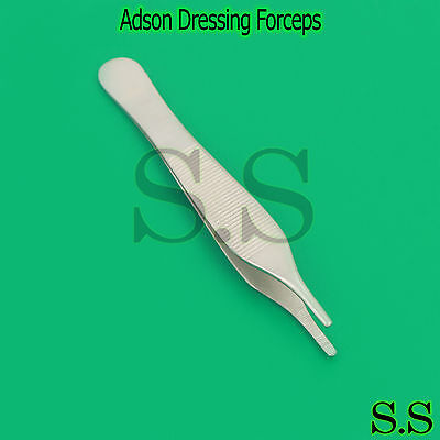 Dressing Tissue Forceps Adson 12cm Serrated Fine Quality Instrument