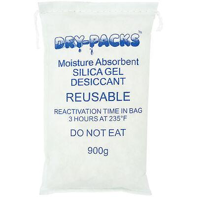 Silica Gel 900g Bag Lockdown Moisture With Dry-packs 900 Gram Dehumidifying Bag