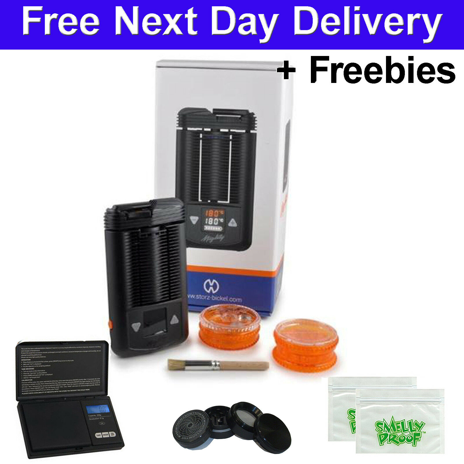 Details about Mighty Portable Vaporizer 2019 Volcano Storz Bickel & Genuine  Aromatherapy New