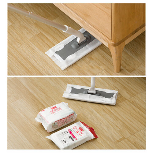 20pcs/30pcs Floor Sweeper Cleaner Static Cleaning Mop and We