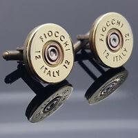 Slim Fit Fiocchi Cartuccia Pallottola Gemelli Clay Shooting Steampunk -  - ebay.it