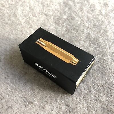 - PALOMINO BLACKWING Point Guard Protection Cap GOLD for Blackwing Pencil NEW