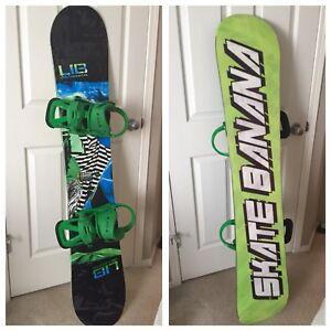 "Lib Tech Skate Banana 154"""