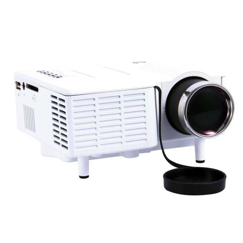 BEST NEW HD Home Theater Multimedia LCD Projector 1080P HDMI USB TV DVD