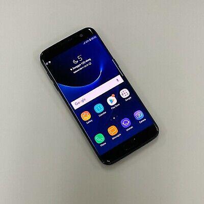 Samsung Galaxy S7 edge Black SM-G935F 32GB Factory Unlocked Single sim Burn in