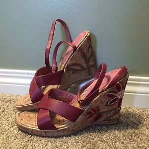 Size 8 Wedge Sandals