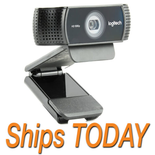 🔥SHIPS TODAY🔥NEW Logitech C922 Pro Stream 1080p Webcam for HD Video Streaming
