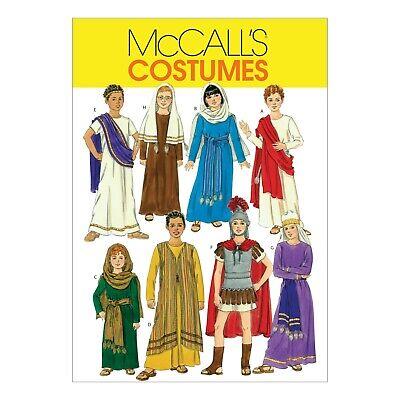 McCalls Schnittmuster M5905 - Kostüme für Kids - Jesus, Maria, Apostel, Römer (Nähen Muster Für Kostüm)