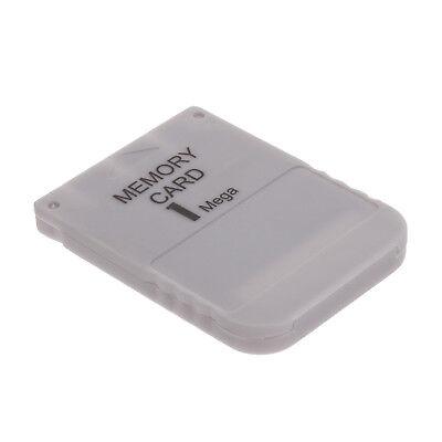Memory Card 1 MB für Sony Playstation PSX PSOne PS1 1MB Speicherkarte GRAU NEU