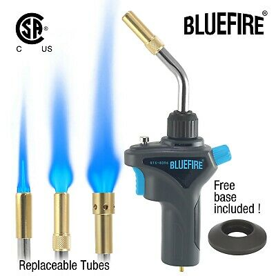 Bluefire Metal Propane Mapp Map Gas Weld Torch3tubes Swirlpencilsearing Kit