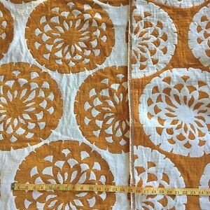 UPHOLSTERY FABRIC 1mt x 1.4mt Circles Nerang Gold Coast West Preview