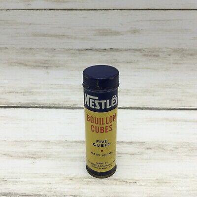 Vintage Nestle's Boullion Cubes Kitchen Advertising Tin