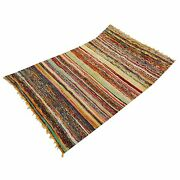 Multi-color Rag Rug