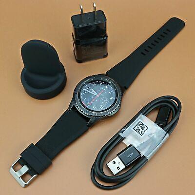 Samsung Gear S3 Frontier SM-R760 46mm Stainless Steel Case Smartwatch Dark Grey  comprar usado  Enviando para Brazil