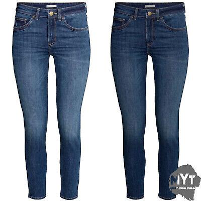 "Ladies Zara Womans Jeans Denim Trouser Jeans New All Sizes Leg Length 30"""