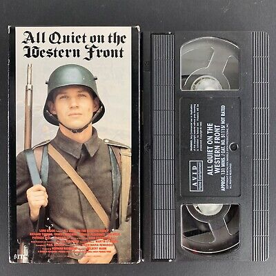 All Quiet on the Western Front (VHS, 1999) Tested Plays