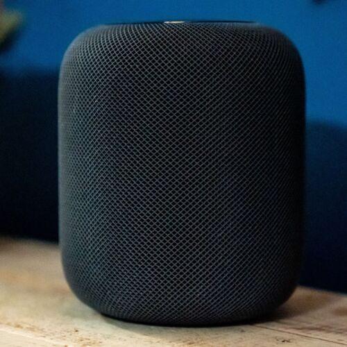 Apple HomePod Wireless Siri Smart Assistant Speaker, Space Gray