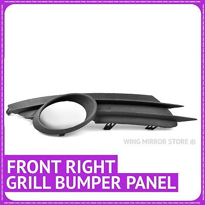 Right front bumper trim bezel grille cover for Vauxhall Corsa D with Fog lamp