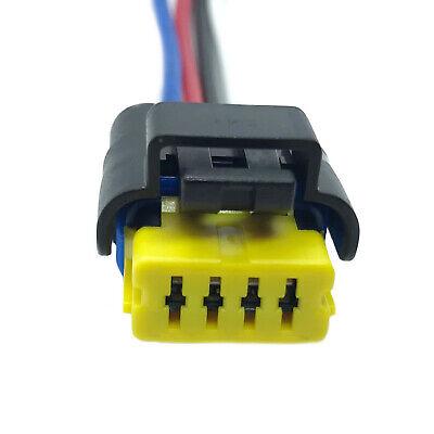 CITROEN / RENAULT / PEUGEOT FUEL PUMP PLUG WIRING HARNESS LOOM 4 PIN CONNECTOR