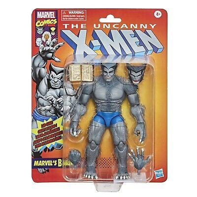 X-Men Marvel Legends Series 6-Inch Retro Gray Beast Action Figure - Exclusive