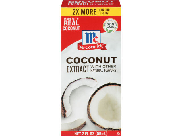 McCormick Coconut Extract, 2 fl oz (Pack of 2)