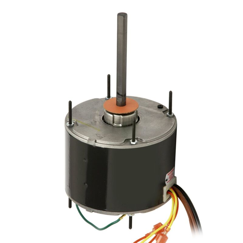 A/C Condenser Fan Motor, 1/6hp , 230V-60HZ, 5MDF/370VAC Revers ballb1  1075 RPM