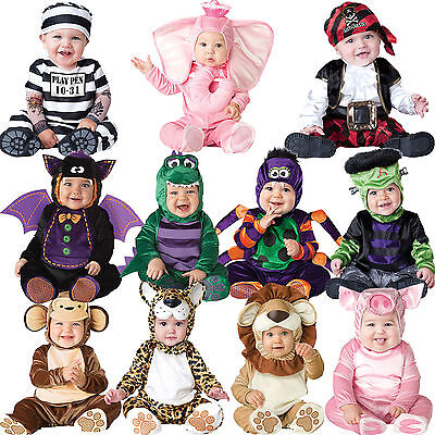 Dress Up Baby Kostüme (Baby Halloween Fancy Dress Up Costume Outfit Animal Boy Girls Babygrow Book Week)