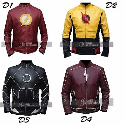 Different Flash Costumes (THE FLASH JACKET COSTUME IN DIFFERENT)