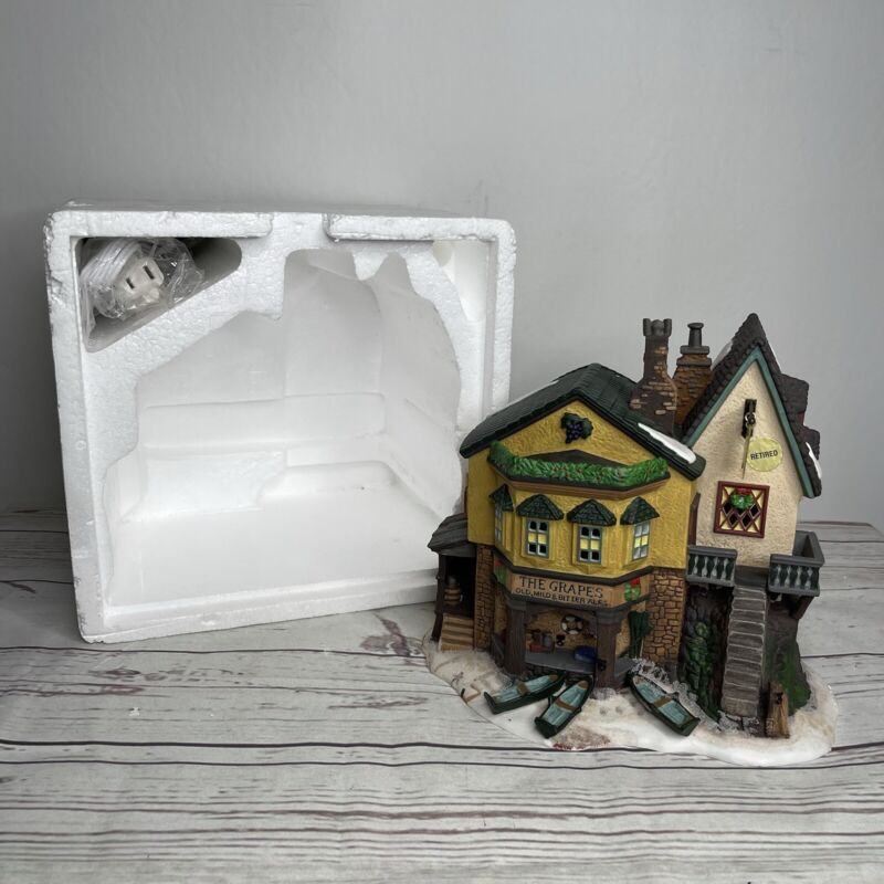 Department 56 Dickens Village The Grapes Inn Limited Edition 1996 Item #57534