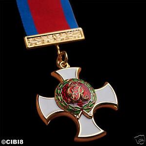 DISTINGUISHED SERVICE ORDER DSO GRV GEORGE V ELITE MILITARY MEDAL FULL SIZE COPY