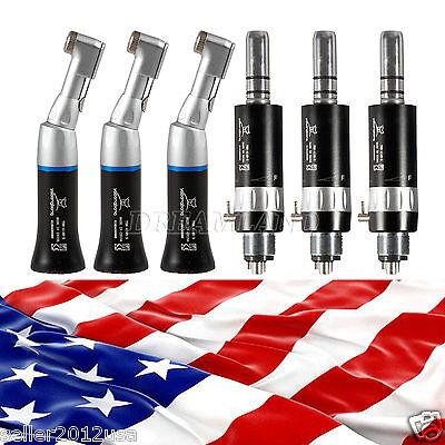 3 Kits Usa Nsk Dental Low Speed Contra Angle Handpiece 4h Motor E-type Ybb-w