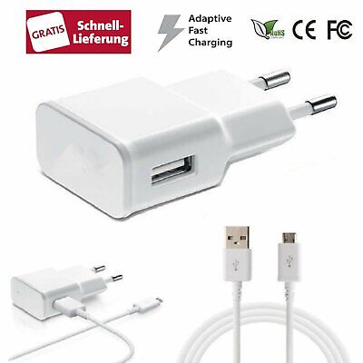 Smart Ladekabel (Micro USB Schnell Ladekabel Netzteil Ladegerät Adapter 2A für Smart Handy Handy)