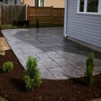 Stamped Concrete (Insured and Professional)