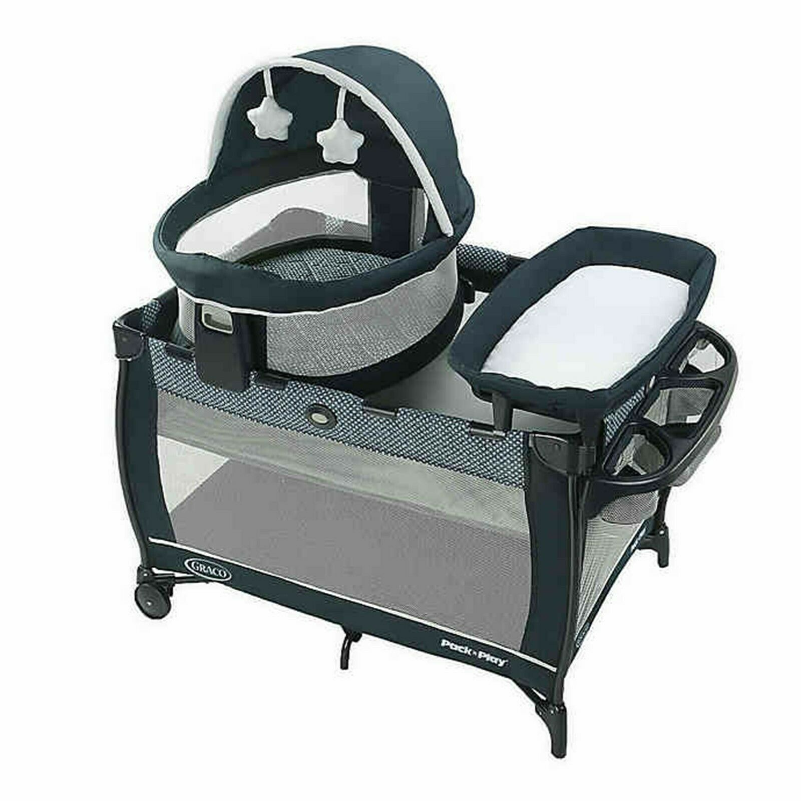 Graco Pack n Play Baby Playard with Portable Bassinet Infant