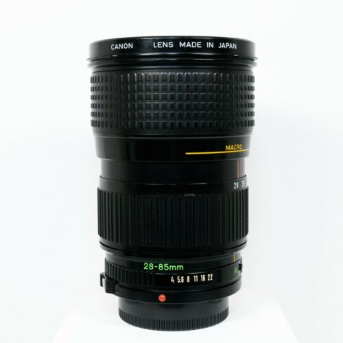Canon Zoom Lens FD 28-85mm f/4 Manual Focus Lens + Macro | Very Good Condition