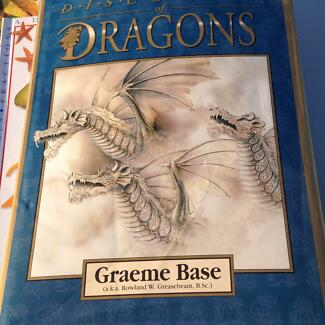 Dragons by Graeme Base Mount Low Townsville Surrounds Preview