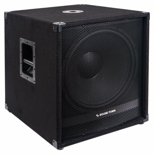 "Sound Town METIS 2400W 18"" Powered Subwoofer w/ Class-D Amplifier METIS-18SDPW"