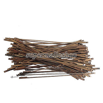 Super 1 Bag Dental Pinned Black Scroll Saw Blades Tools Accessories 127mm