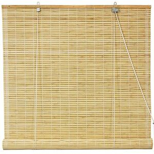 Bamboo roll up room divider
