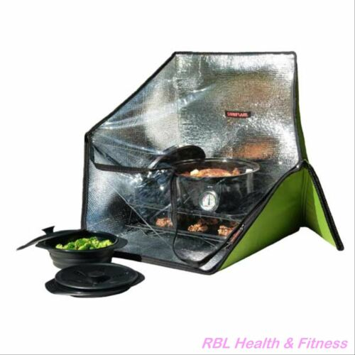 SUNFLAIR Deluxe Portable Solar Oven Kit - Solar Cooker + Accessories
